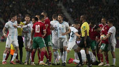 Amichevole Marocco-Argentina 0-1