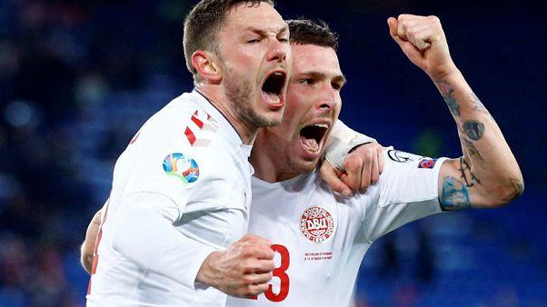 Denmark complete astonishing three-goal comeback to deny Switzerland