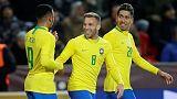 ثنائية جيسوس تقود البرازيل للفوز 3-1 على التشيك وديا