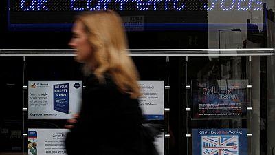 Brexit turmoil hits UK firms' hiring plans - REC