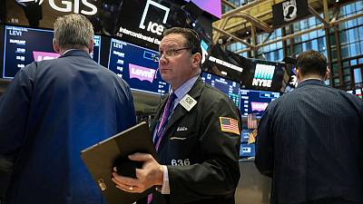 Yields, stocks down with focus on growth, central banks