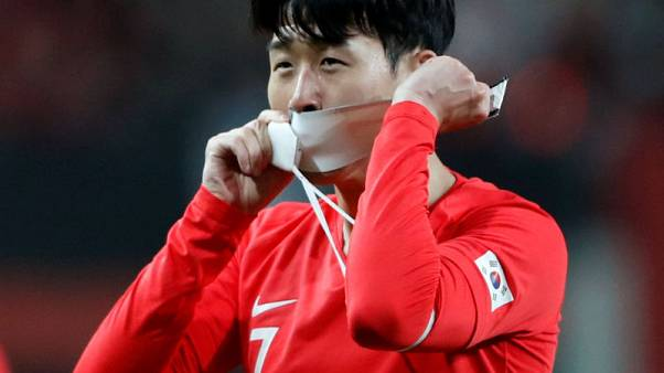 Soccer: South Korea's Son keen to share the limelight