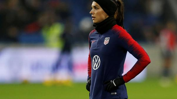 Take your best shot: Life Lessons with soccer star Alex Morgan