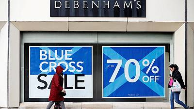 Sports Direct proposes 61.4 million pound possible offer for Debenhams