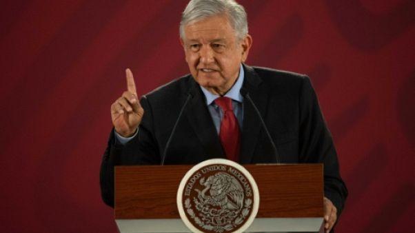 Le président mexicain Andrés Manuel Lopez Obrador, le 26 mars 2019 à Mexico