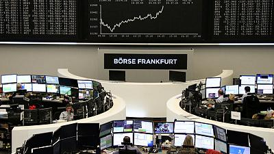 European shares edge higher before votes on Brexit process