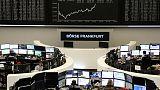 الأسهم الأوروبية ترتفع قبيل اقتراع على إجراءات الانفصال البريطاني