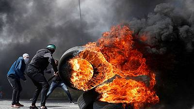 One Palestinian killed as West Bank protesters clash with Israeli troops