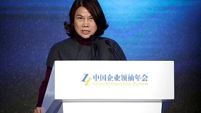 China's top businesswoman accuses private sector of bribery