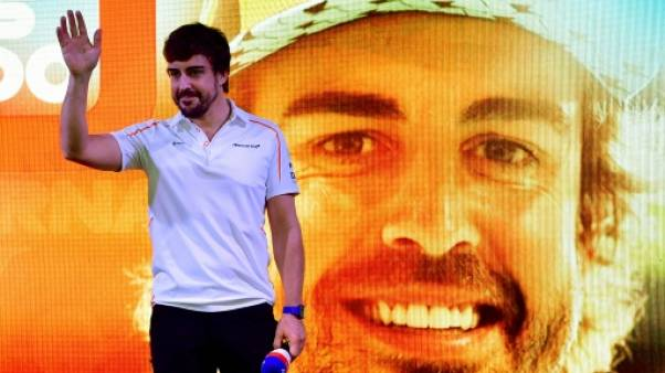 Rallye Dakar: premiers essais avec Toyota pour Fernando Alonso