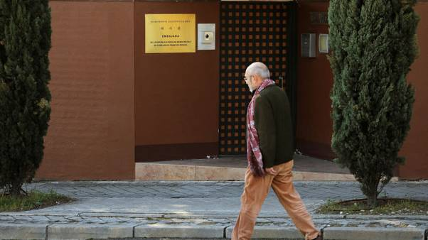 Spanish judge issues warrant for North Korea embassy intruders - source