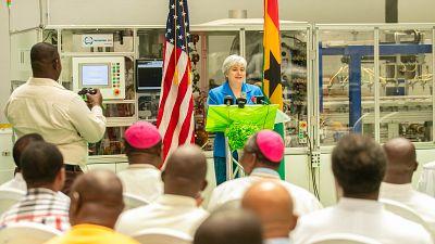 USA and Ghana Partnership for Solar Energy