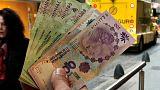 البيزو الأرجنتيني يغلق عند مستوى قياسي منخفض أمام الدولار