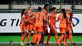 Ligue des champions dames: Lyon balaye Wolfsburg et file en demies