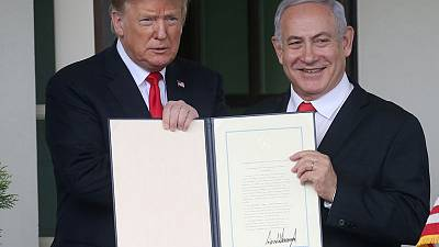 U.S. isolated at U.N. Security Council over Golan decision