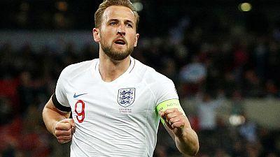 England captain Kane wants to end career as NFL kicker