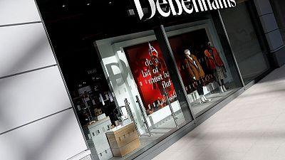 Debenhams bondholders back restructuring