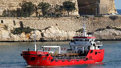 Malta's army recaptured small tanker that was hijacked by migrants
