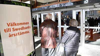 Swedbank sacks CEO after money laundering allegations
