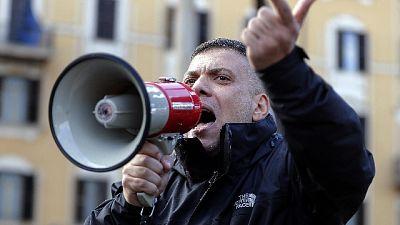 Reporter aggrediti, arrestato Castellino