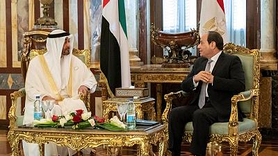 His Highness Sheikh Mohamed bin Zayed, Egyptian President review regional, international issues