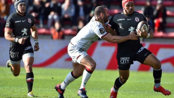 Top 14: le centre néo-zélandais Pita Ahki prolonge à Toulouse jusqu'en 2021