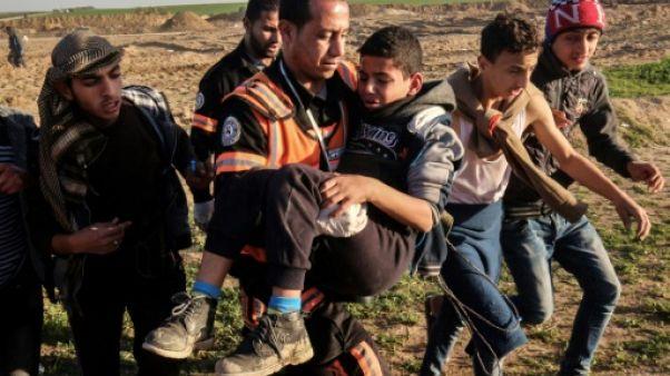 Gaza: 40 enfants tués en un an de manifestations à la frontière israélienne, selon l'Unicef