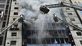Bangladesh: au moins cinq morts dans l'incendie d'un immeuble à Dacca