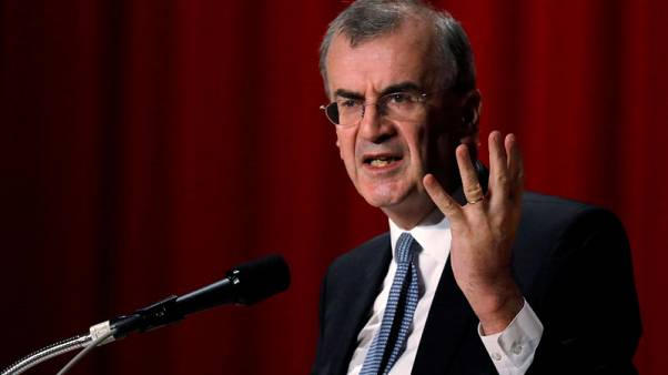 ECB should consider how to ease side effects from negative rates - Villeroy