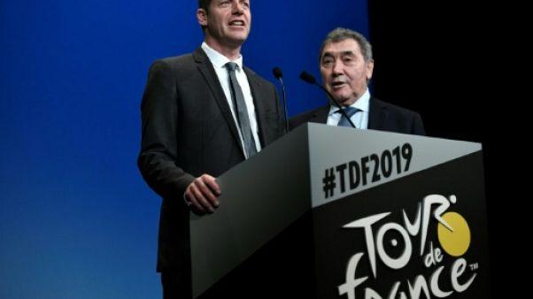"""Cyclisme: à 100 jours du """"Grand Départ"""", le Tour fait la fête à Eddy Merckx"""