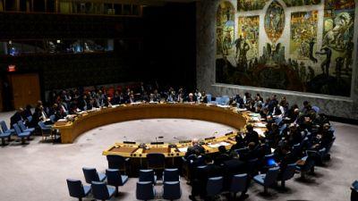 La salle solennelle du Conseil de sécurité, le 26 février 2019 à New York