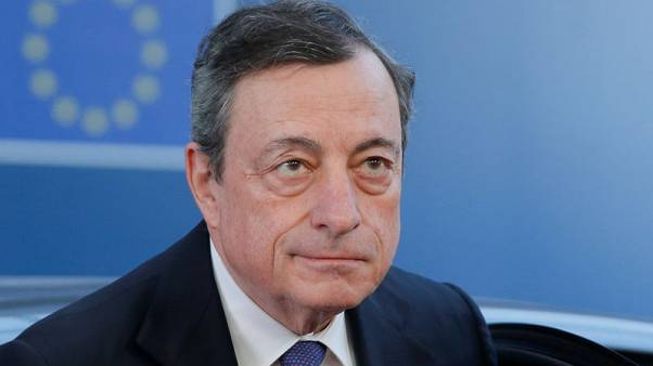 Exclusive: Markets underpricing 'no-deal' Brexit risk, ECB's Draghi told EU leaders