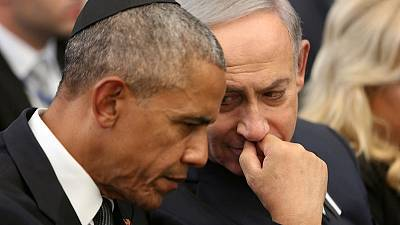 Netanyahu uses icy relationship with Obama to try to win votes