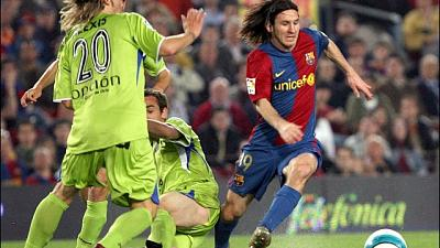 Barcellona: di Messi il gol più bello