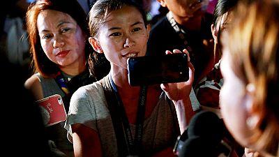 The Philippine journalists taking the rap in Duterte's latest war
