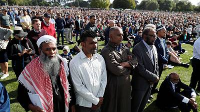 Mosque victims' names read out to silent crowd at New Zealand memorial
