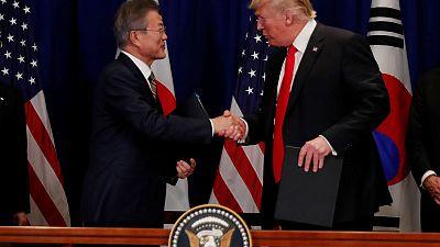 Trump, South Korea's Moon to meet on April 10 in Washington - Yonhap