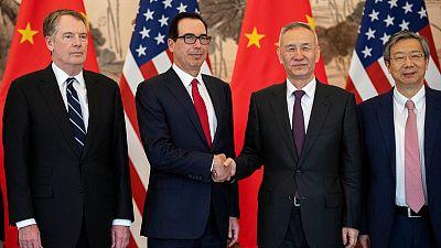 U.S., China hold 'constructive' trade talks in Beijing