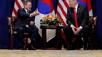 South Korea's Moon to meet Trump over stalled North Korea talks