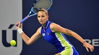 Czech Pliskova and Aussie Barty to meet in Miami final