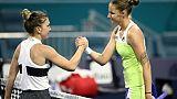 Tennis: Pliskova va en finale à Miami et prive Halep du gros lot