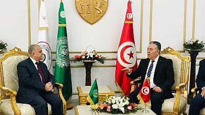Foreign Minister Arrives in Tunisia to Participate in Preparatory Meeting of Arab Foreign Ministers