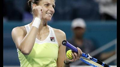 Miami Open, Barty e Pliskova in finale