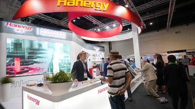 Hanergy Debuts at The Solar Show Africa 2019