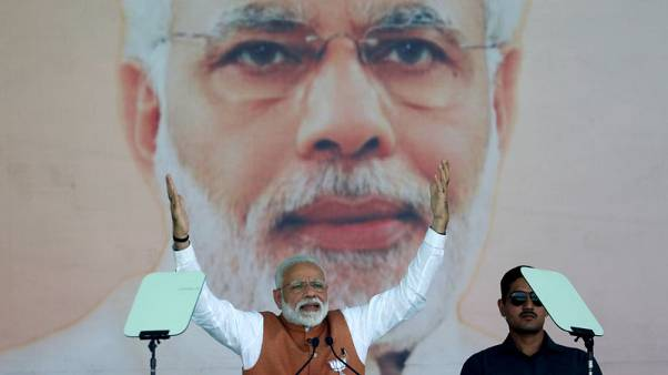 Two weeks before India starts voting, Modi predicts easy victory