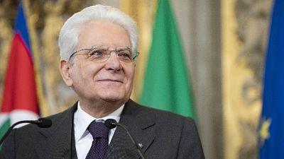 Mattarella firma su com.inchiesta banche