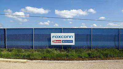 Foxconn posts fall in fourth-quarter profit, beating estimates