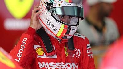 Vettel fastest as Ferrari dominate Bahrain GP practice