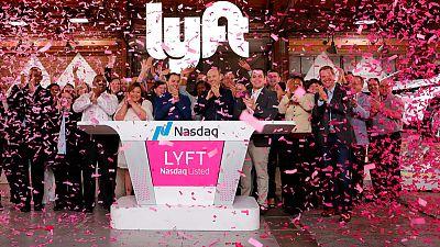 Lyft shares soar on Nasdaq debut, setting stage for Uber