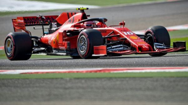 GP de Bahreïn: Leclerc le plus rapide